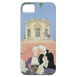 The Indolents,  illustration for 'Fetes Galantes' iPhone SE/5/5s Case