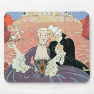 The Indolents,  illustration for 'Fetes Galantes' Mouse Pad