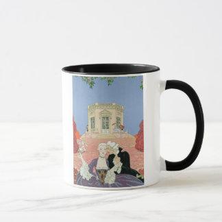 The Indolents,  illustration for 'Fetes Galantes' Mug