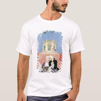 The Indolents,  illustration for 'Fetes Galantes' T-Shirt