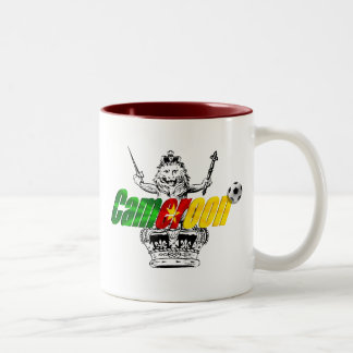 The Indomitable Lions Cameroon Grunge Gifts Mugs