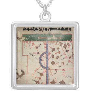 The Indus Square Pendant Necklace