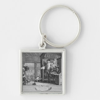The Industrious 'Prentice a Favourite Keychain