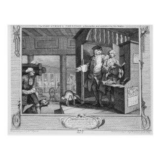 The Industrious 'Prentice a Favourite Postcard