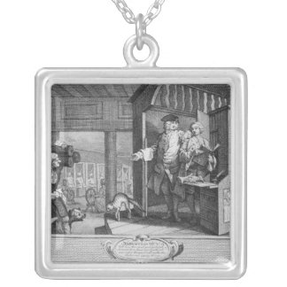The Industrious 'Prentice a Favourite Silver Plated Necklace