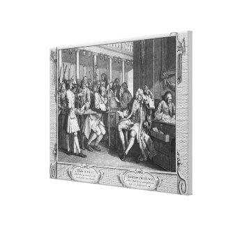 The Industrious 'Prentice Alderman of London Canvas Print