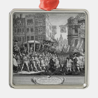 The Industrious 'Prentice Lord Mayor of London Metal Ornament