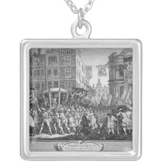 The Industrious 'Prentice Lord Mayor of London Silver Plated Necklace