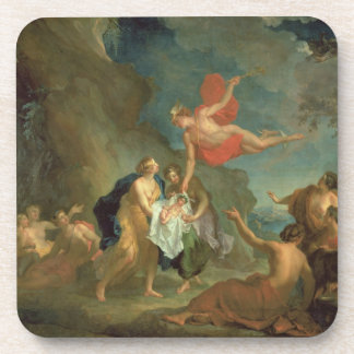 The Infant Bacchus Delivered by Mercury to the Nym Beverage Coaster
