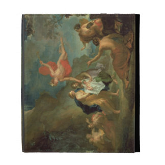 The Infant Bacchus Delivered by Mercury to the Nym iPad Case