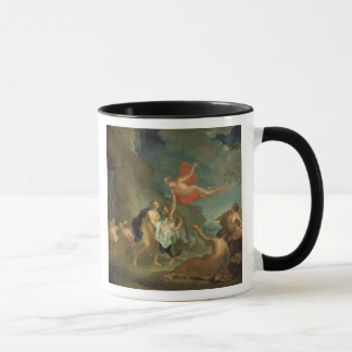 The Infant Bacchus Delivered by Mercury to the Nym Mug