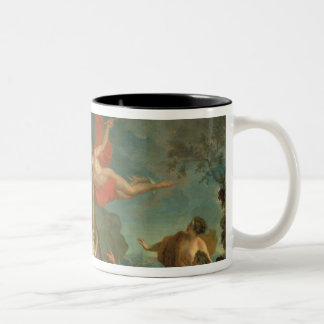 The Infant Bacchus Delivered by Mercury to the Nym Two-Tone Coffee Mug