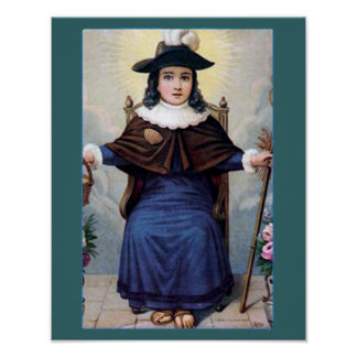 The Infant of Atocha. Poster