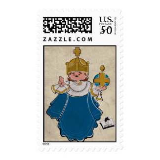 The Infant of Prague Postage