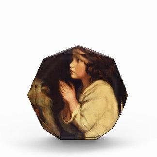 The Infant Samuel at Prayer by Joshua Reynolds Acrylic Award