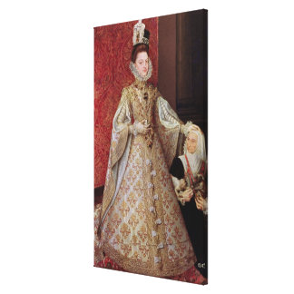 The Infanta Isabel Clara Eugenia  with the Gallery Wrapped Canvas