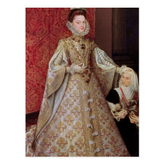 The Infanta Isabel Clara Eugenia  with the Postcard