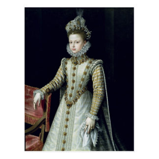 The Infanta Isabel Clara Eugenie  1579 Postcard