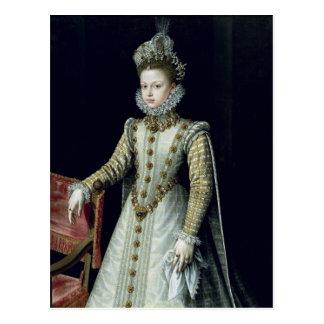 The Infanta Isabel Clara Eugenie  1579 Postcard