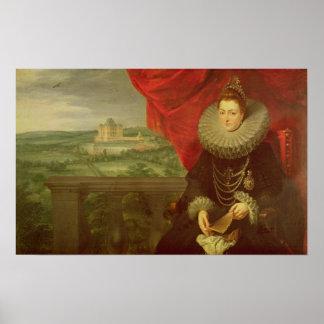 The Infanta Isabella Clara Eugenia Print
