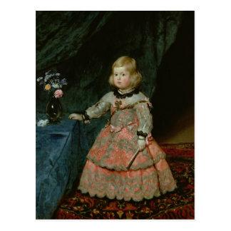 The Infanta Margarita Teresa Postcard