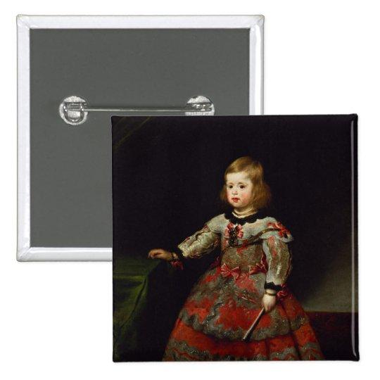 The Infanta Maria Margarita  of Austria Button