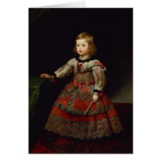 The Infanta Maria Margarita  of Austria Card