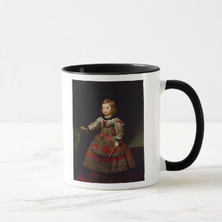 The Infanta Maria Margarita  of Austria Mug