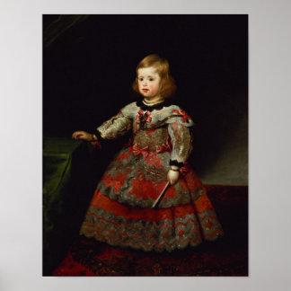 The Infanta Maria Margarita  of Austria Poster