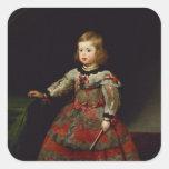 The Infanta Maria Margarita  of Austria Square Sticker