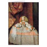 The Infanta Maria Marguerita  in Pink Greeting Card