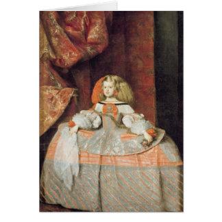 The Infanta Maria Marguerita  in Pink Card