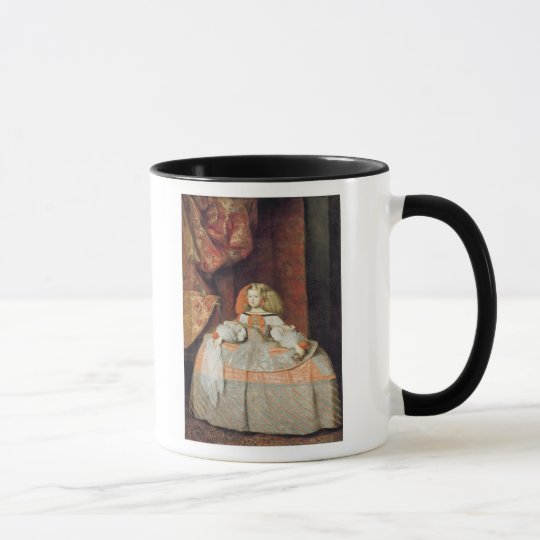 The Infanta Maria Marguerita  in Pink Mug