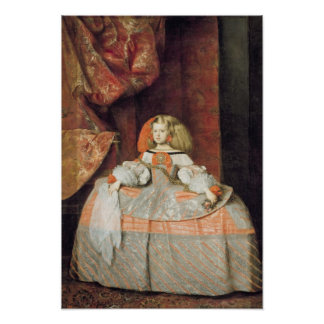 The Infanta Maria Marguerita  in Pink Poster