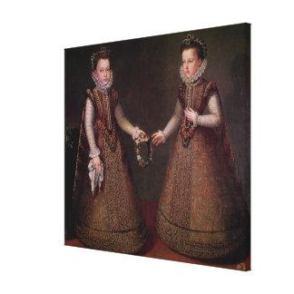 The Infantas Isabella Clara Eugenia Stretched Canvas Prints