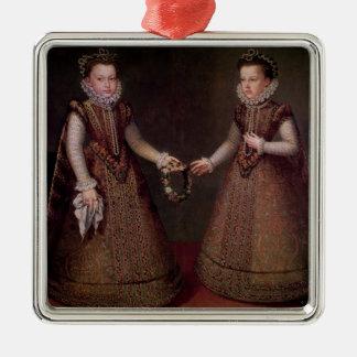 The Infantas Isabella Clara Eugenia Metal Ornament