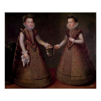 The Infantas Isabella Clara Eugenia Print