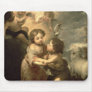 The Infants Christ and John the Baptist Mouse Pad