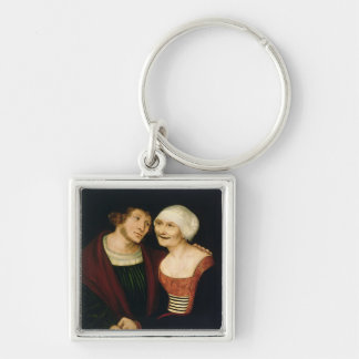 The Infatuated Old Woman Keychain