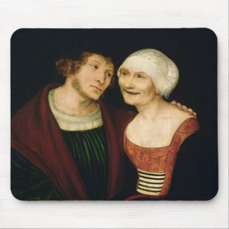 The Infatuated Old Woman Mouse Pad