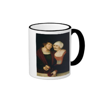 The Infatuated Old Woman Ringer Mug