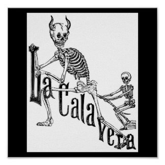 The Infernal Calavera. The Day of the Dead. Poster