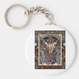 The infernal machine keychain