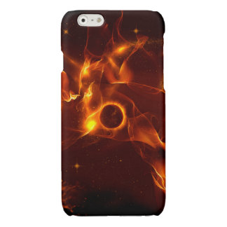 The inferno glossy iPhone 6 case