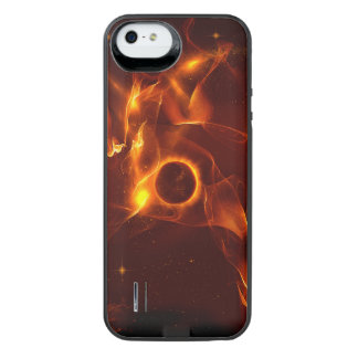 The inferno uncommon power gallery™ iPhone 5 battery case