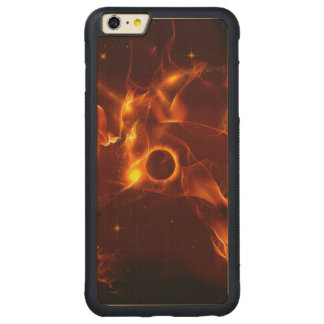The inferno carved® maple iPhone 6 plus bumper
