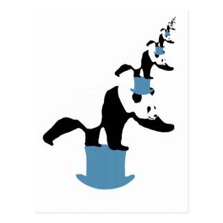 The Infinite Panda Postcard
