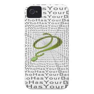 The Infinity - Who Has Your back iPhone 4 Covers