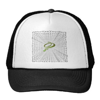 The Infinity ? - Who Has Your back? Trucker Hat