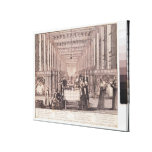 The Infirmary of the Sisters of Charity Canvas Print
